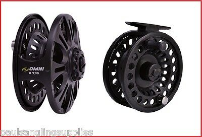 Shakespeare Omni MKII  fly Fishing Reel for Rod Line  Size 6/7