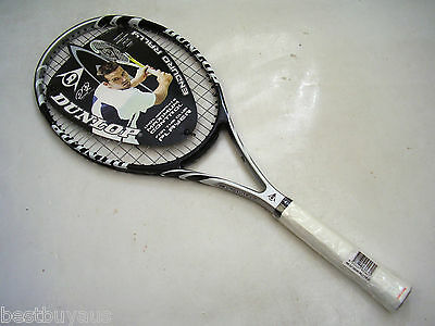 New! Dunlop Enduro Rally Graphite Tennis Racquet Rrp $119