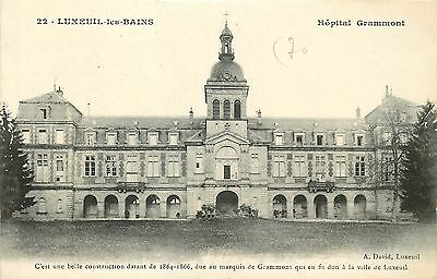 70 LUXEUIL hopital grammont