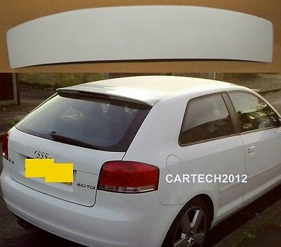 AUDI A3,3 doors model , 8P S3 2003-2008 S- Line  ROOF SPOILER GREAT LOOK,