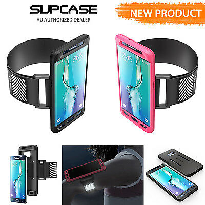 Supcase Samsung Galaxy S6 Edge Plus  Gym Sport Running  Armband Case Cover