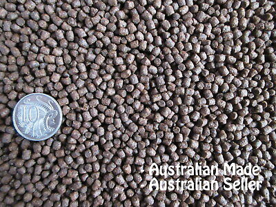 Premium Bulk 2kg 3-4mm FLOATING Cichlid, Native, Tropical & Goldfish Fish Food.