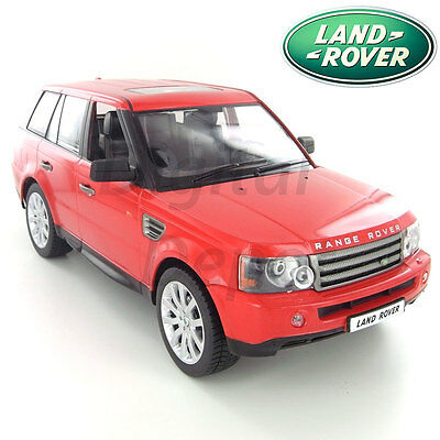 Official 1:14 Scale Red Land Rover Range Rover Sport HSE Remote Control Toy Car