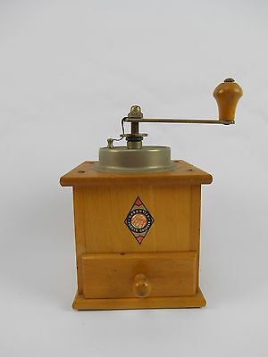 Vintage Forged Maple Coffee Spice Grinder Mill GREAT SHAPE