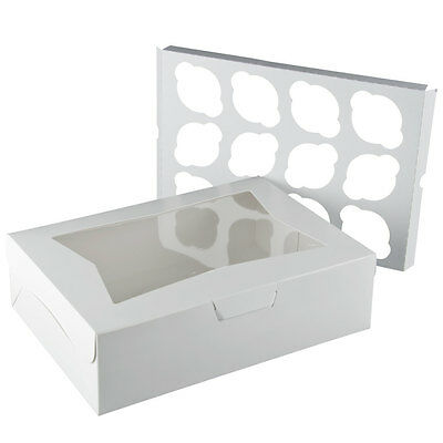 """Window Cupcake Box with Insert 14"""" x 10"""" x 4"""" - 10 / Pack -    FAST Shipping"""