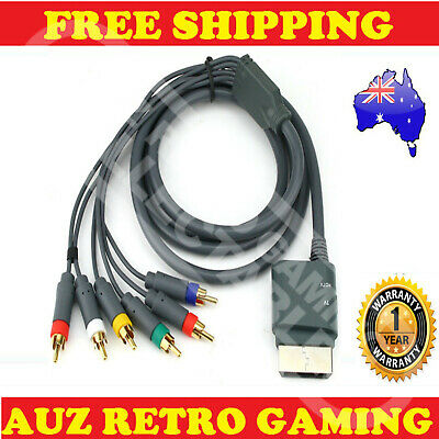 New Xbox 360 XBOX360 Component HD TV HDTV RCA AV Audio Video Cord Cable Lead