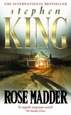 Rose Madder by King, Stephen Hardback Book The Cheap Fast Free Post