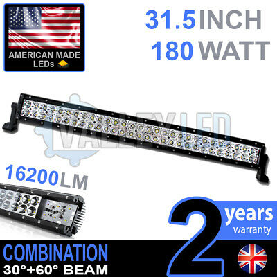 "24v 30"" 180w Cree LED Light Bar Combo IP68 XBD Driving Light Alloy HGV Truck"
