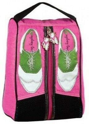 Sydney Love Pink Nylon Golf Shoe Bag New With Tags