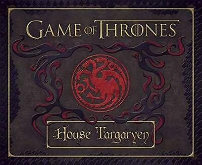 Game of Thrones: House Targaryen Deluxe by Insight Editions (English) Hardcover