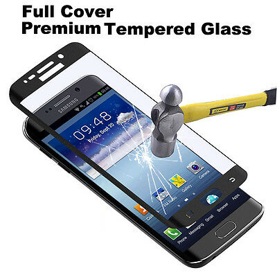 For SAMSUNG GALAXY S6 S7 EDGE&Plus FULL Coverage Tempered Glass Screen Protector
