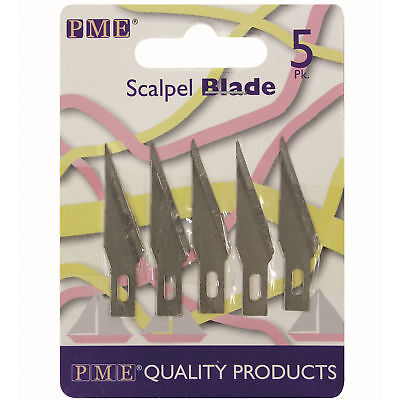 PME 5pk Spare Scalpel Blades For Craft Knife