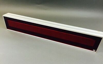 LED Anzeige, Laufschrift rot Westerstrand Typ: 119020-00