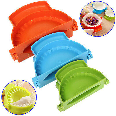 3x Safe Dumpling Yummy Mould Mold Press DIY Meat Pie Pastry Empanada Maker Tool