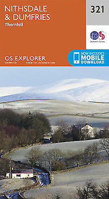 Nithsdale and Dumfries Explorer Map 321  Ordnance Survey