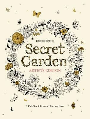 Secret Garden Colouring Book Malaysian Print Edition