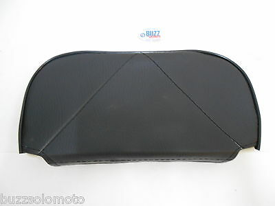 Mod Scooter Slipover Cuppini Backrest Pad in Black