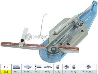 Tile Cutter Sigma 2A3 Manual Professional Serie Tecnica Cutting Lenght 51 Cm