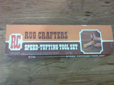 Vintage Rug Crafters Speed Tufting Tool Set WOW!