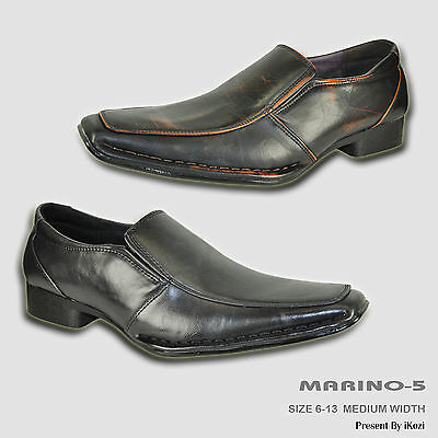 CORONADO Men Dress Shoe MARINO-5 Classic Loafer Point Toe with Leather lining
