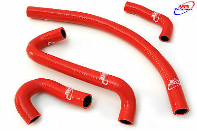 Yamaha Fzr 600 1989-1999 High Performance Silicone Radiator Hoses Red