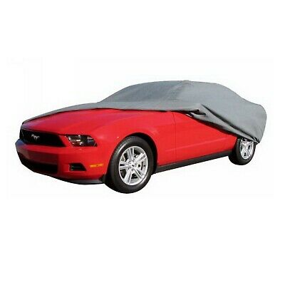 """Rampage 1302 EasyFit 4-Layer Car Cover w/Lock, Cable & Storage Bag 13' 1"""" to 14'"""