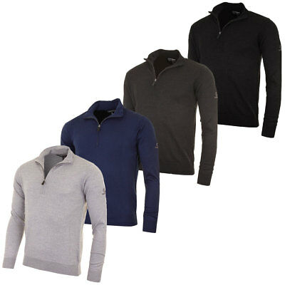 Sunice Mens Wellington 1/4 Zip Water Repellent Sweater Golf Pullover 57% OFF RRP