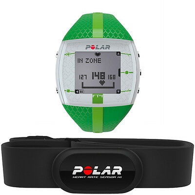 polar ft4 heart rate monitor watch silver black • 119 87 cad polar ft4f women s fitness training heart rate monitor watch