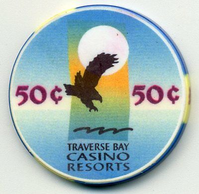 Traverse Bay  Mi 50 Cent Casino  House Chip