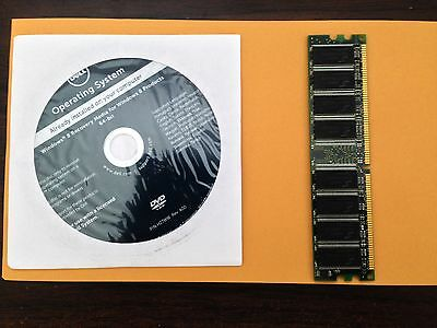 Dell Microsoft Windows 8 64-bit Reinstallation DVD Disc w/ ram