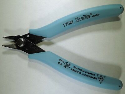 Xcelite 170M Micro Flush Cutting Shear Tool for Small/Tiny Wire-Tight Spaces USA