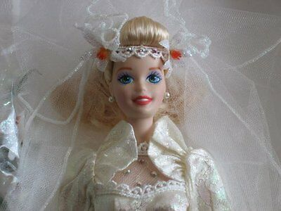Star Lily Bride BARBIE Porcelain Doll Limited Edition 1994