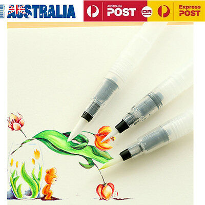 3pcs Pilot Ink Pen for Water Storage Brush Calligraphy Painting Tool Set S+M+L