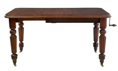 19Th Century Victorian Mahogany Extending Dining Table