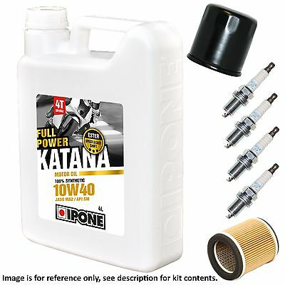 Yamaha XJ 550 J Maxim 1982 Ipone Katana Full Service Kit Oil/Air/Plugs