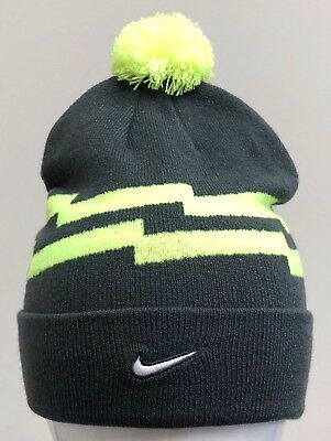 7f9ebfb9daf91 ... discount code for nike beanie pom anthracite volt white 688769 060  31850 f6913