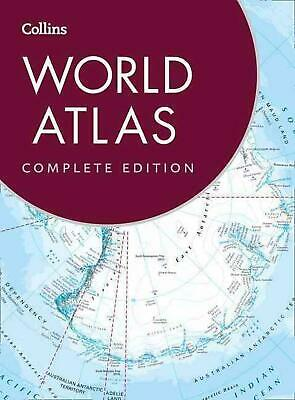 Collins World Atlas: Complete Edition by Collins Maps (English) Hardcover Book F