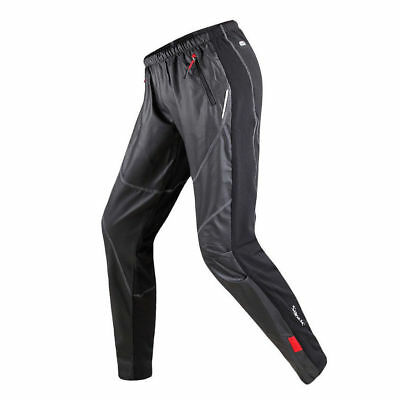 Fleece Thermal Winter Cycling Pants Tights Wind proof Bicycle Bike Long Pants