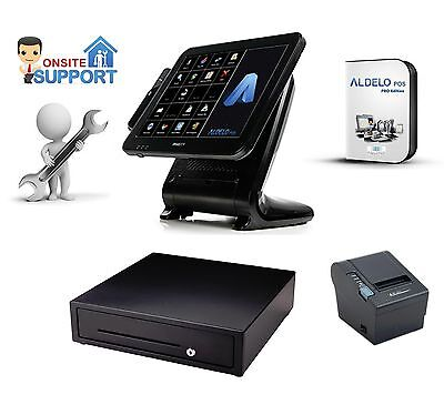 All in one I3 POS System w/ Aldelo Pro for restaurant & bar (NYC Onsite Service)