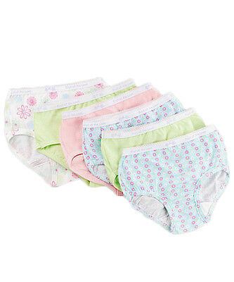 Fruit of the Loom Little Girls' 6-Pack Briefs (Sizes 4 - 16)