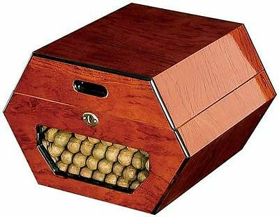 New Cuban Wheel By Don Salvatore 50-Count Cigar Humidor Box
