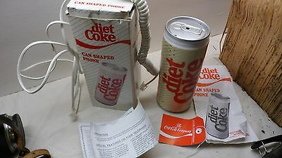 Super Rare Diet Coke Coca-Cola Soda Can Telephone Push Button - Only One On Ebay