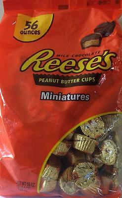 Hershey Reese's Peanut Butter Cups 1.58 Kg  Buttercups Bag Miniature Chocolate