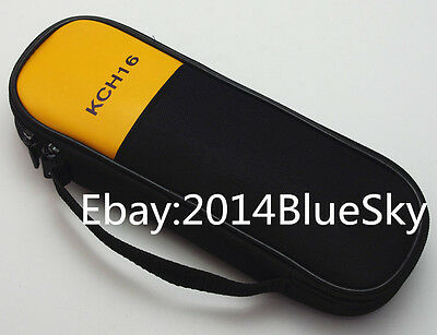 Carry Soft Case/bag Use For Clamp Meter Fluke T5-1000 T5-600 T6-600 T6-1000