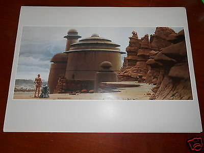 STAR WARS RETURN OF THE JEDI VINTAGE ILLUSTRATION POSTER RALPH McQUARRIE N°1