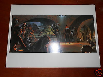 STAR WARS RETURN OF THE JEDI VINTAGE ILLUSTRATION POSTER RALPH McQUARRIE N°3