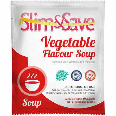 Slim And Save ® VLCD/TFR Diet Meal Replacement Vegetable Soup 151 Cals -NE-1VGSP