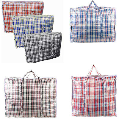 Quality Laundry Bags L,XL,JUMBO Reusable Storage Zipped Shopping Strong Storage