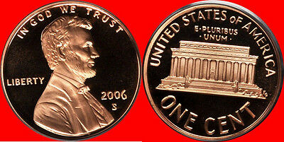 2006 S Lincoln Cent Deep Cameo Gem Proof