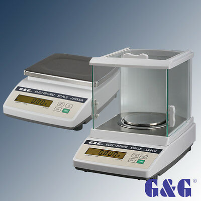 G&G JJ-B Precision Digital Balance Scale Accurate PRO Balance de precision